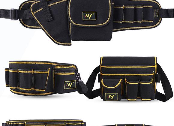 Multi-Function Waist Pack Repair Tool Storage Bag Oxford Cloth Hardware