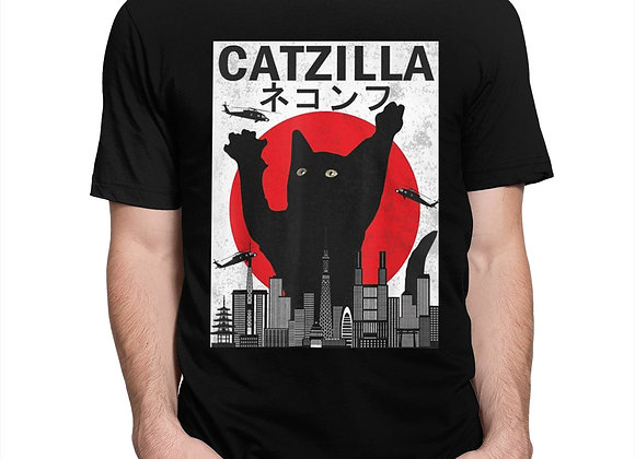 Retro Catzilla Tshirt