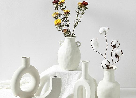 Ceramic Table Flower Vases Nordic Home Decoration