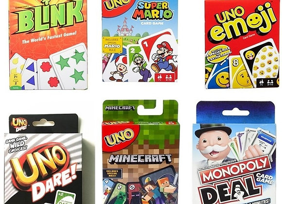 Mattel Games UNO Classic (Tin Box)