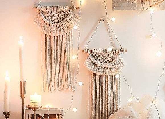 Hanging Tapestry Handmade Woven Wind Chimes Wall Hanging Tapestry