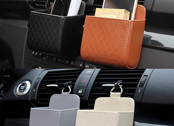 Car Storage Bag Air Vent Dashboard Tidy