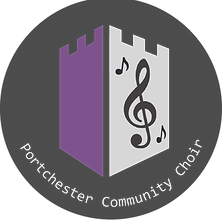 Portchester Community Choir Logo