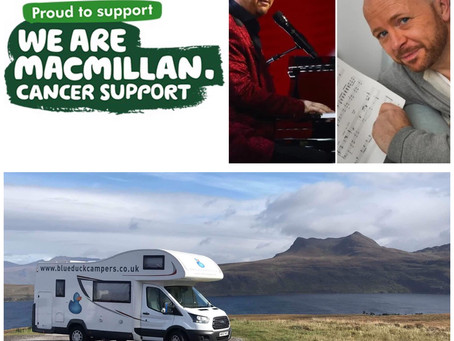 Blue Duck supports Macmillan Cancer Support