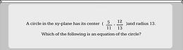Circle Equations 7