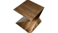 ZION METAL END TABLE