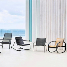NEW OCCASSIONAL CHAIRS BY CANE-LINE