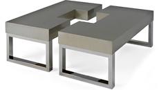 SANTORINI 2 PC COCKTAIL TABLE