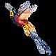 水彩画鳥2