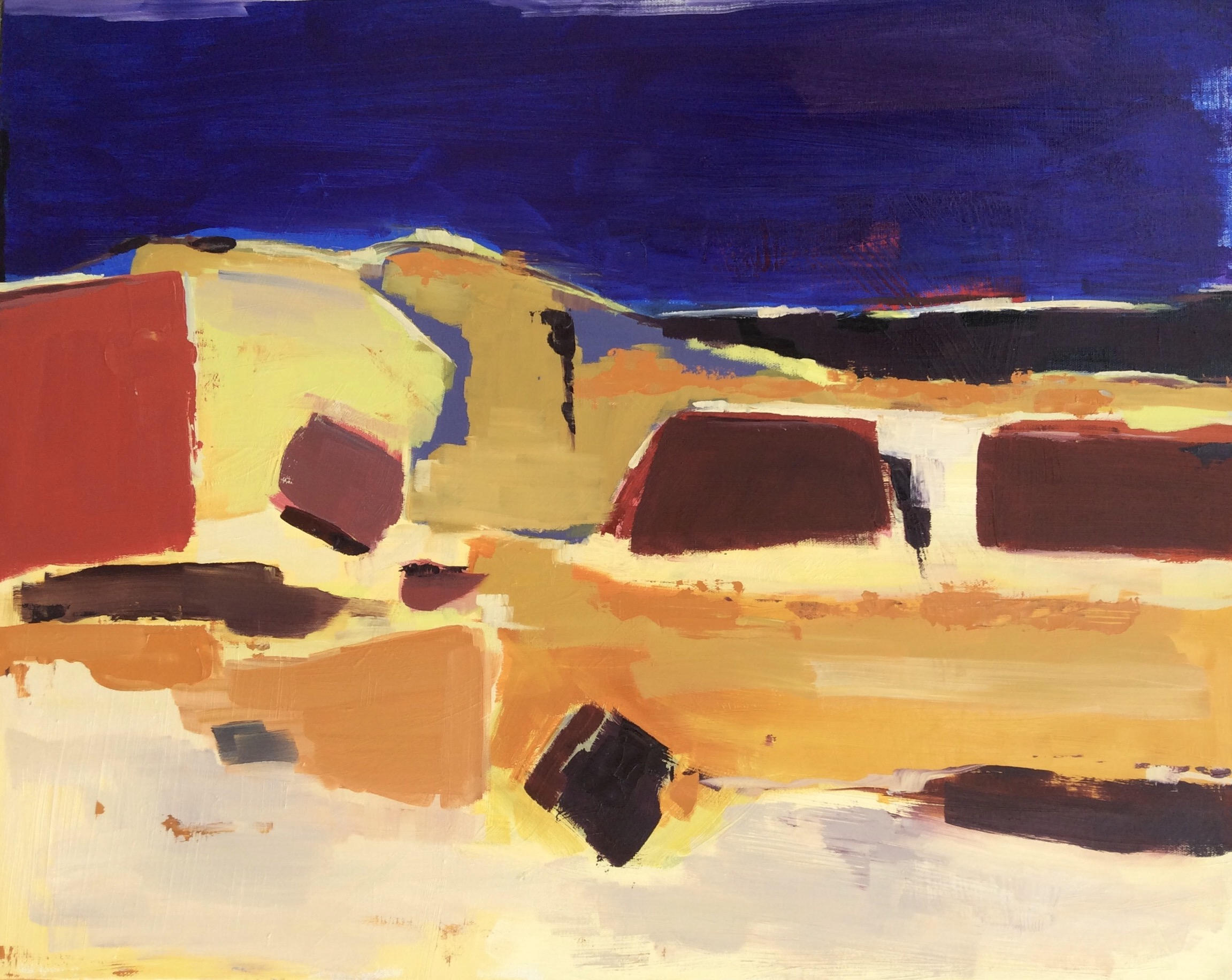 Insired by Nicolas deStael 2