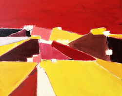 Insired by Nicolas deStael 1