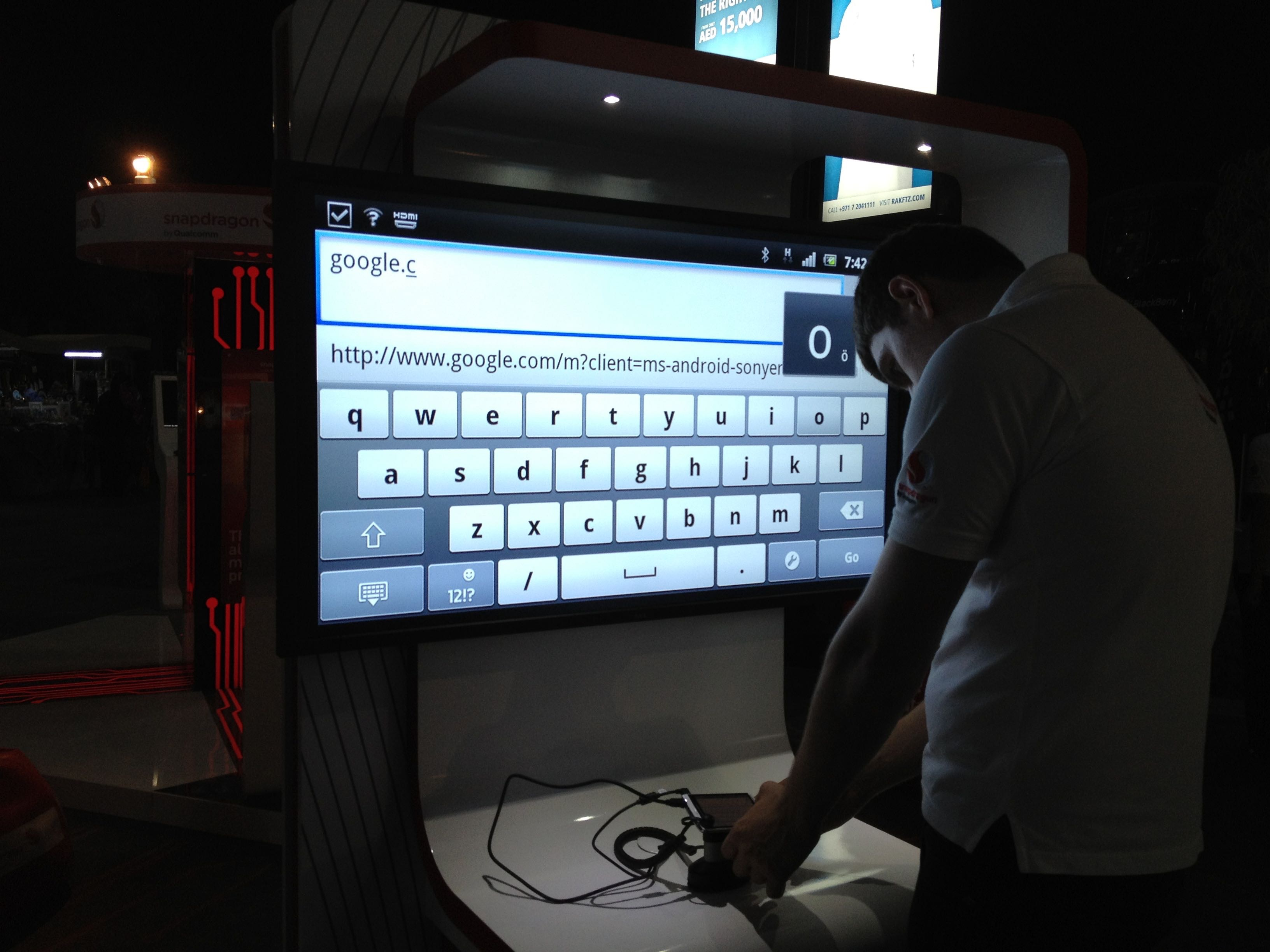 Qualcomm Gitex Digital Signage