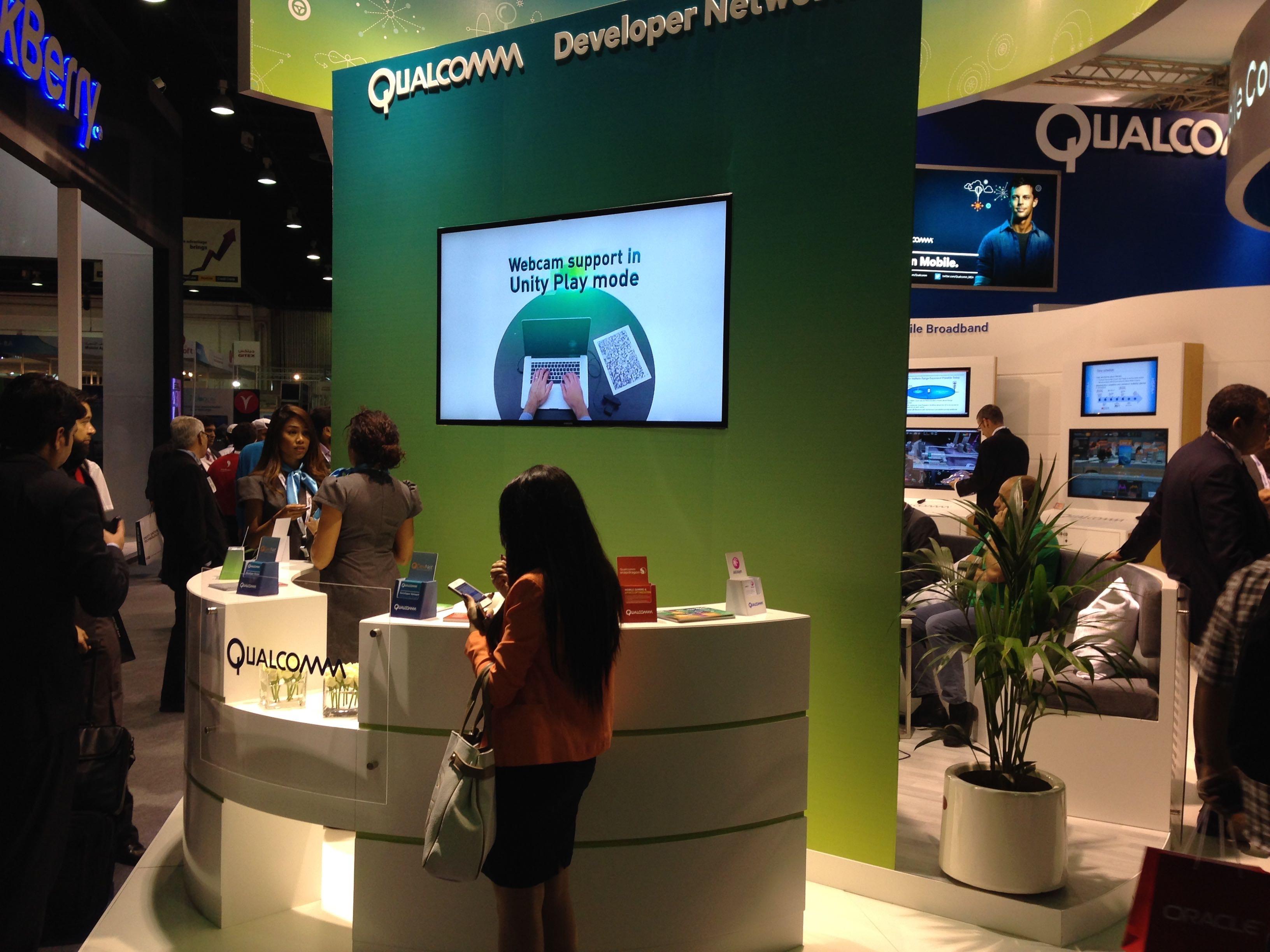 Qualcomm Gitex Digital Signage