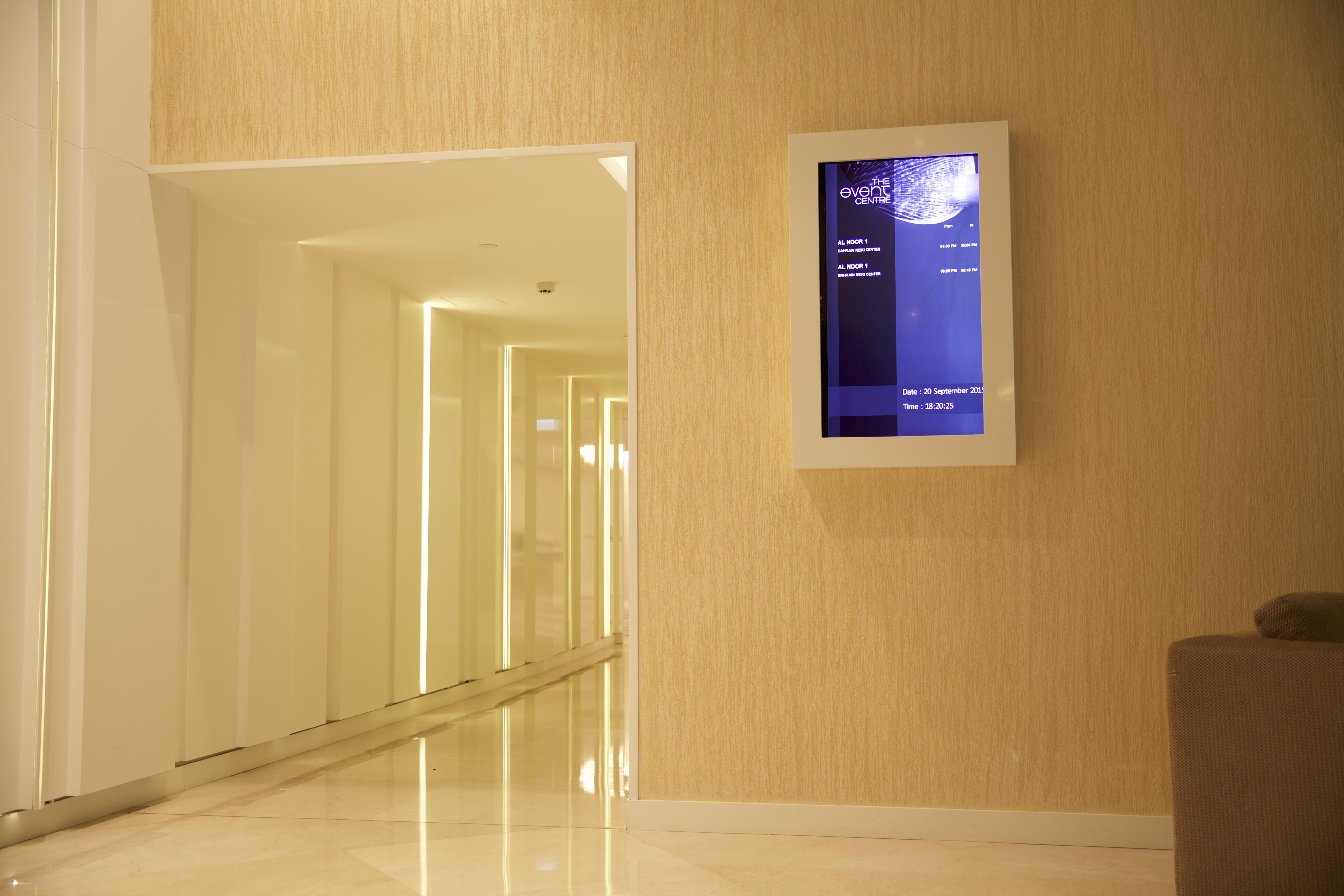 Intercontinental Hotel Digital Sign