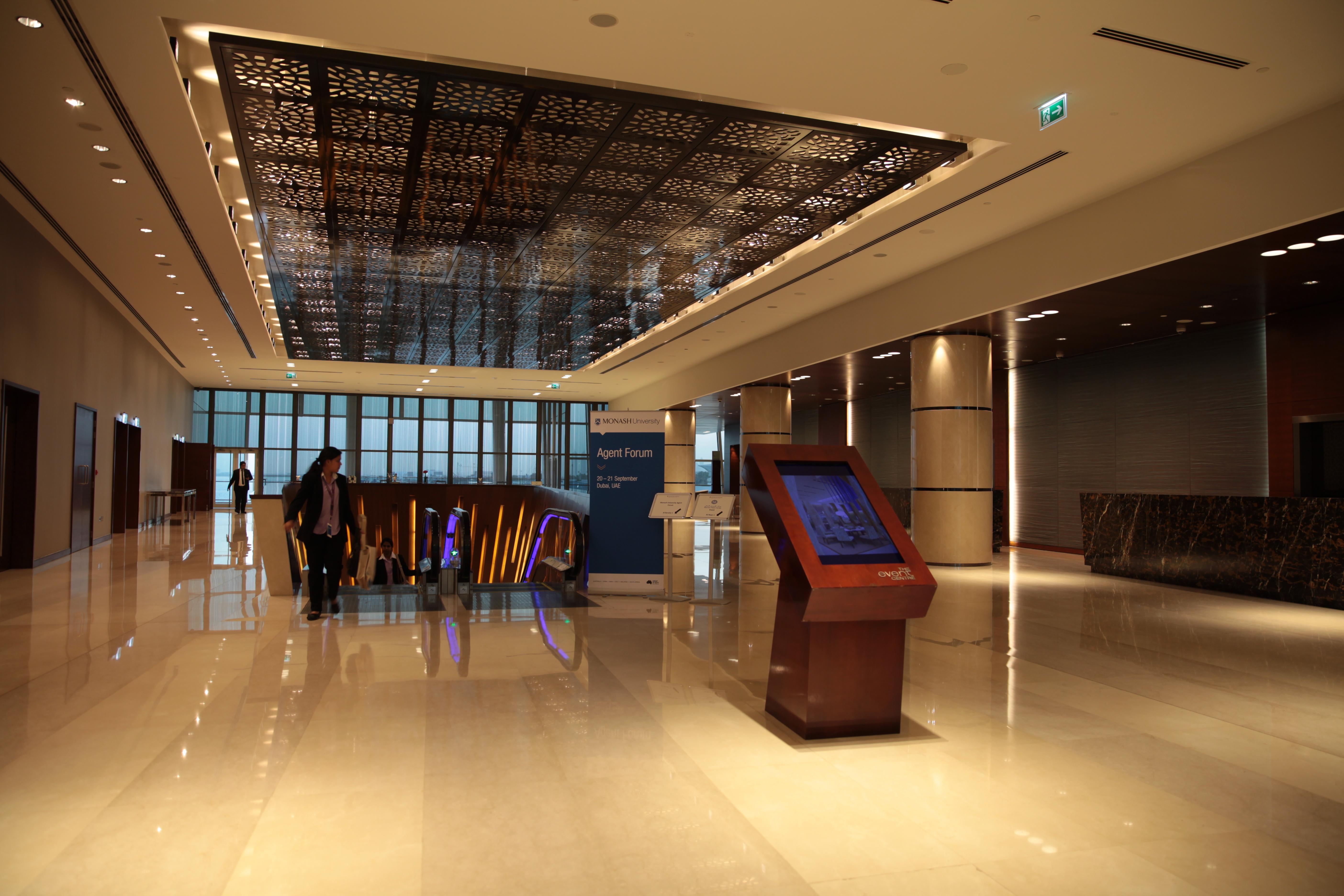 Intercontinental Hotel Lobby Sign