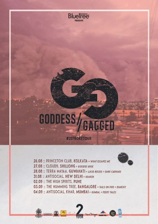 2Stroke Tour's Fourth Edition- Goddess Gagged Reunite