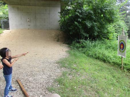 9月5日(日)森あそび「竹テッポウ作り」を予定しています。