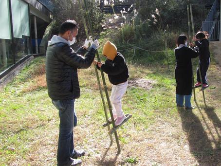 ●12月6日(日)森あそび「竹切って竹馬作り」 報告