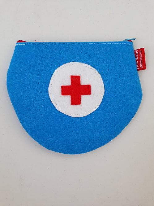 Light Blue Pharmacy Bag