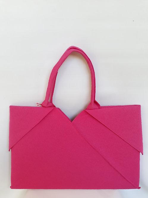 Pink Origami bag
