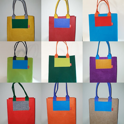 Market Bag custom colour
