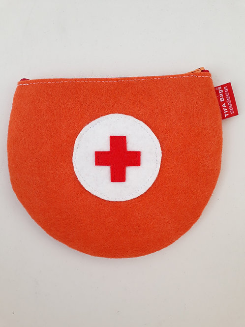 Orange Pharmacy Bag