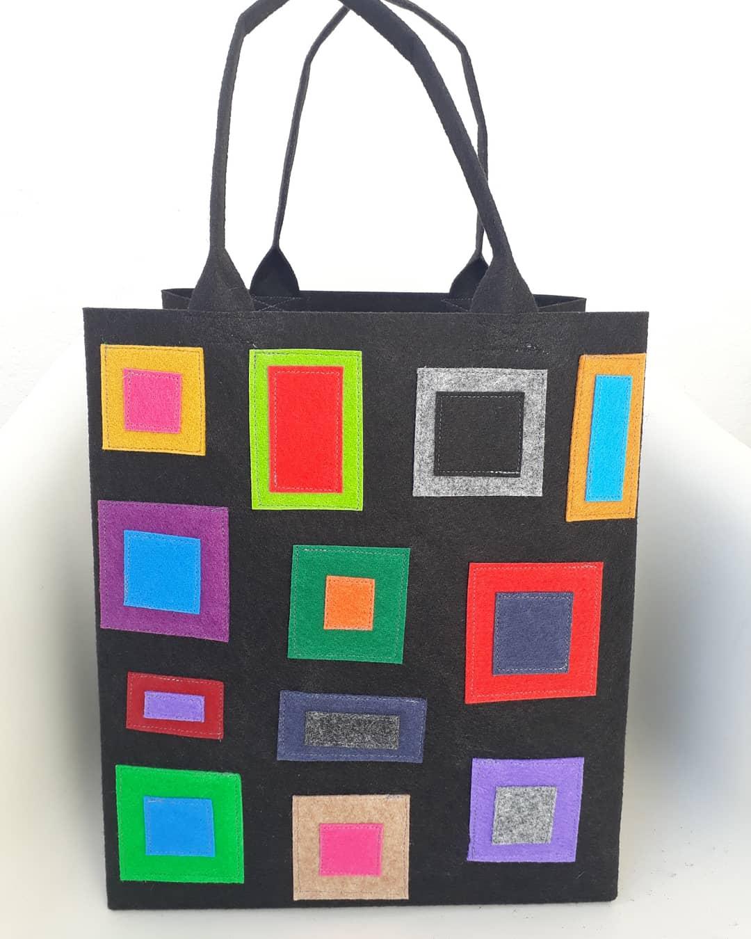 Market Bag squares