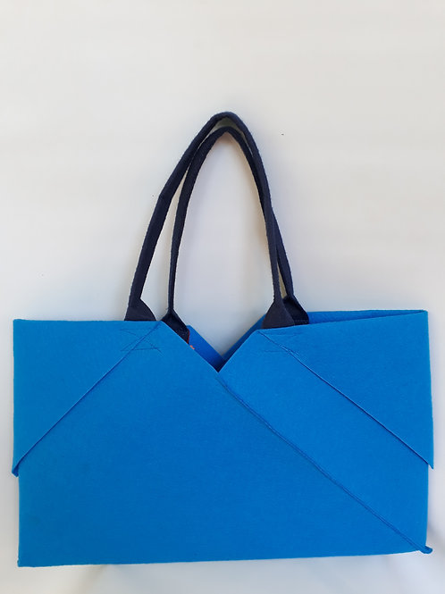 Light Blue Origami bag