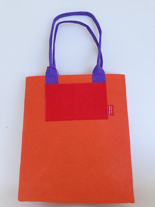 Orange Market Bag