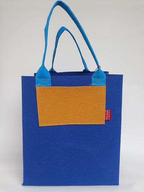 Royal Blue Market Bag