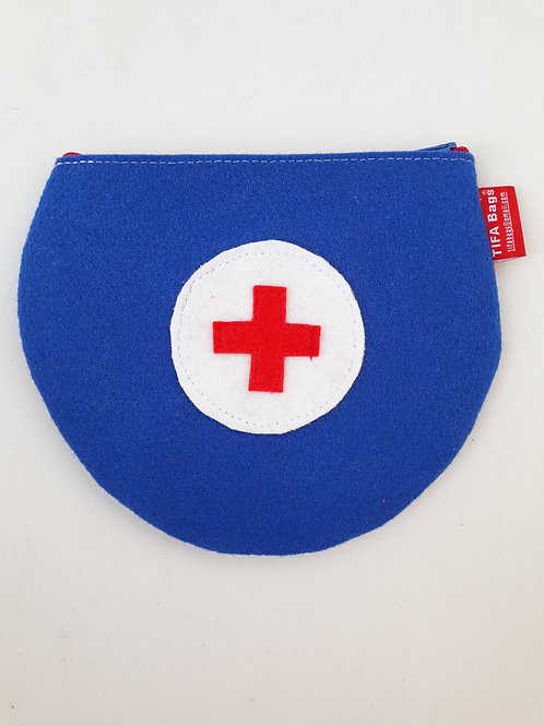 Royal blue Pharmacy Bag