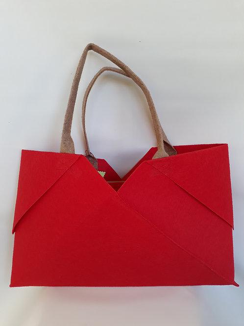 Red Origami bag