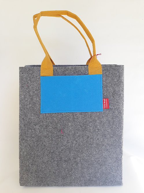 Light Grey Market Bag