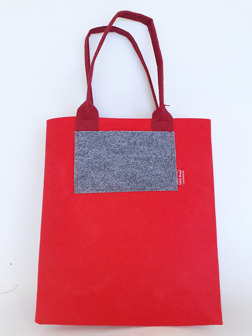 Red Market Bag