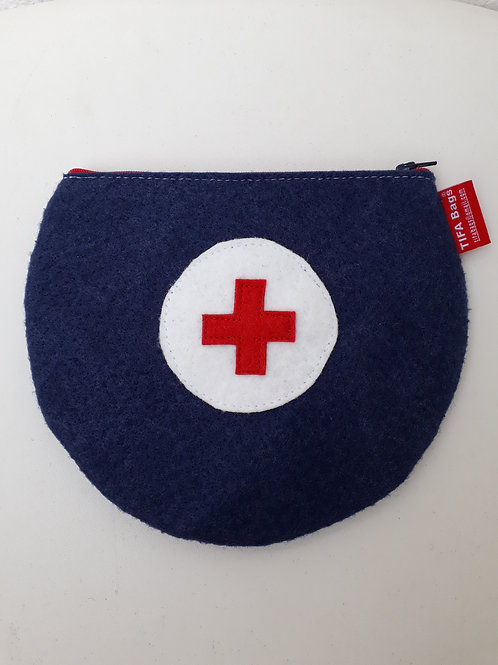 Navy Blue Pharmacy Bag
