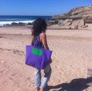Tifa at the beach