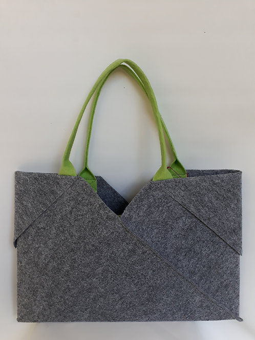 Light Grey Origami bag