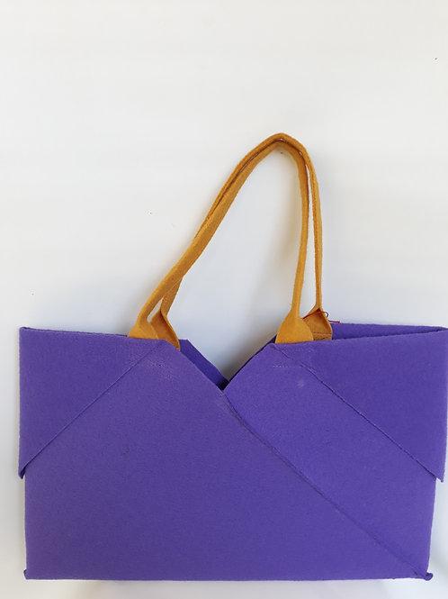 Purple Origami bag