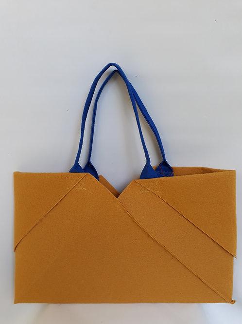 Mustard Origami bag