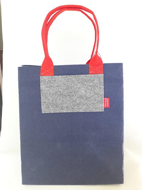 Navy Blue Market Bag