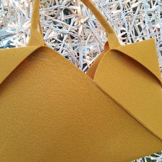 Origami mustard