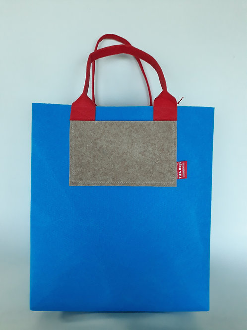Light Blue Market Bag