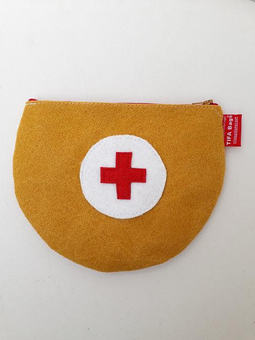 Mustard Pharmacy Bag