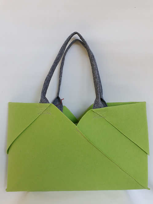 Light Green Origami bag