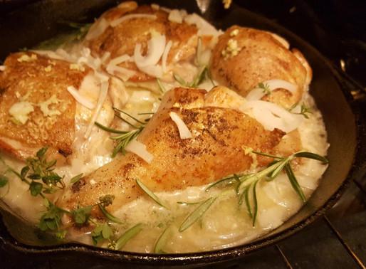 Garlic & Wine Chicken