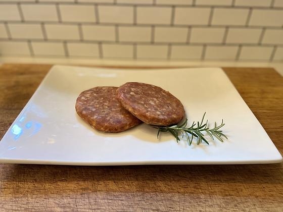 Chorizo Pork Burger Patties