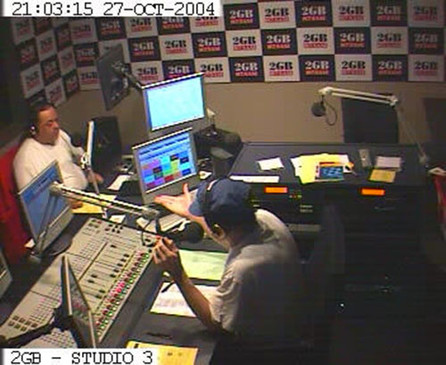 Michael Richardson's 2GB show