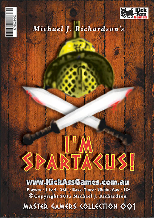 I'm Spartacus! - Gladiator Card Game
