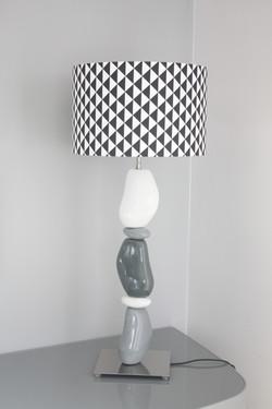 Abat-jour sur lampe