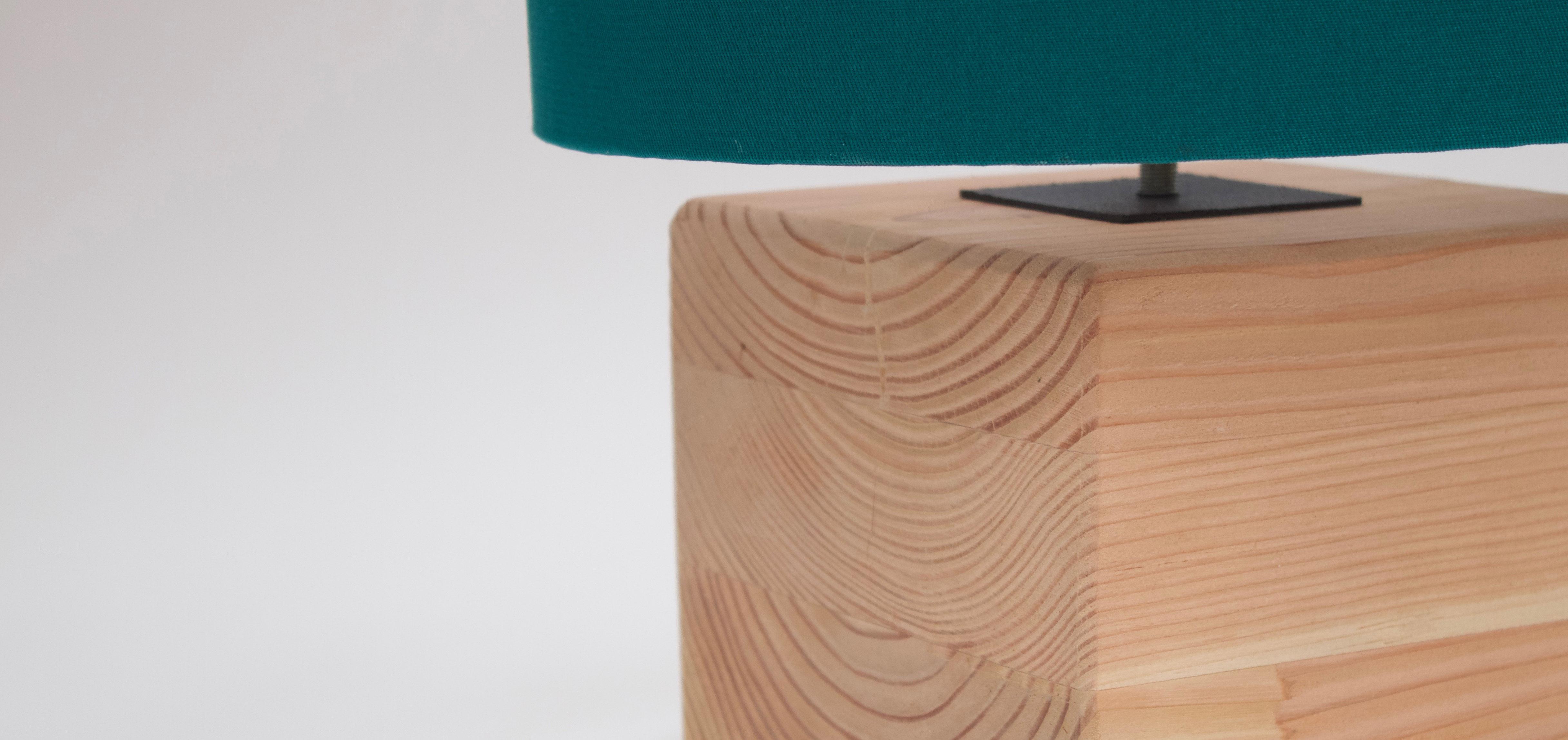 woodaucarre - lampe cube